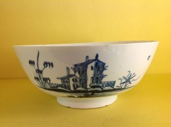 A rare Longton Hall bowl