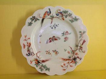 A rare West Pans plate