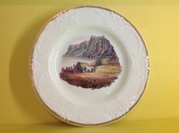 Indian Interest. A rare Stephen Folch plate