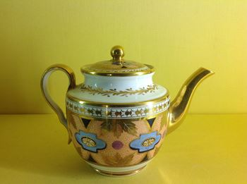 A Spode 'bachelor' teapot and cover