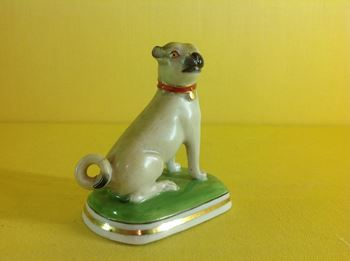 A Chamberlain's Worcester model of a pug