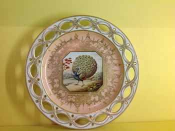 A rare Chamberlain's Worcester plate