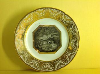 A fine Derby plate