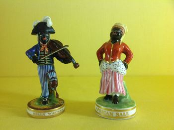 Two Derby small figures