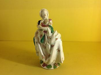 A Chelsea figure of 'Isabella'