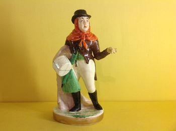 A Rockingham theatrical figure