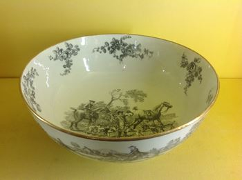 A Worcester small punch bowl