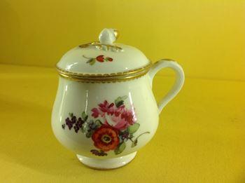 A La Courtille (Paris) custard cup and cover