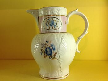 A rare early Chamberlain's Worcester jug