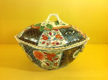 A Worcester small tureen and cover