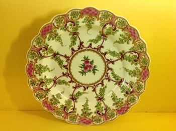 A Worcester Earl Manvers Pattern plate