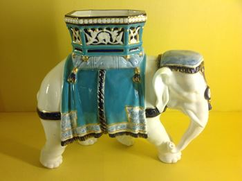 A Royal Worcester elephant