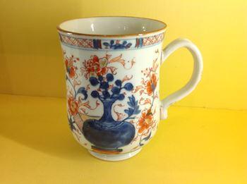 A Chinese Imari mug