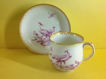 A Chelsea coffee cup and saucer