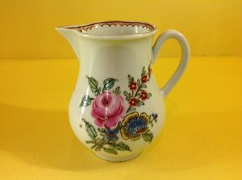 A Worcester baluster shaped sparrow beak milk jug