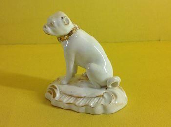 A Derby model of a pug