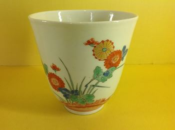 A rare early Meissen chocolate beaker