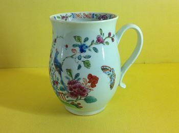 A rare Chaffer's Liverpool small mug