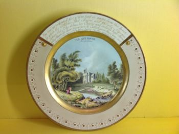 A rare Chamberlain's Worcester plate