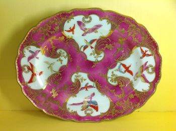 A Chelsea oval dish