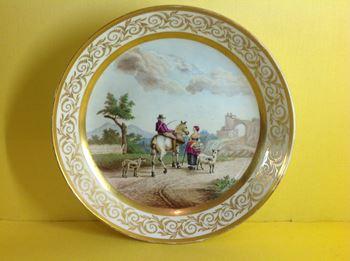 An English porcelain saucer dish