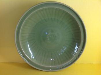 A Chinese celadon dish