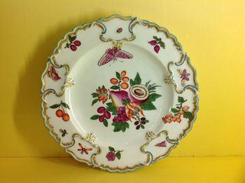A Chelsea 'Duke of Cambridge' plate