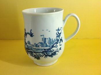 A rare Worcester mug