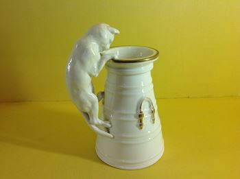 An unusual Copeland vase