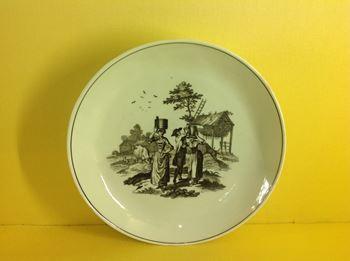 A Worcester saucer dish
