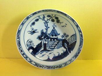 A Lowestoft saucer