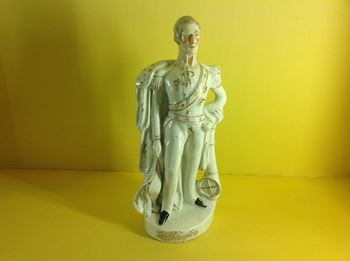 A Staffordshire pottery figure of The Duke of Wellington