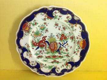 A Chamberlain's Worcester plate