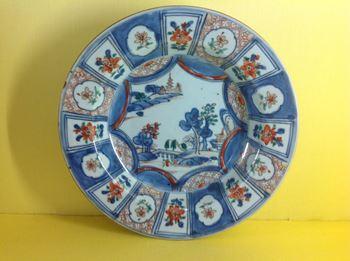 A Chinese Imari plate