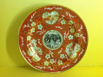 A Chamberlain's Worcester small plate
