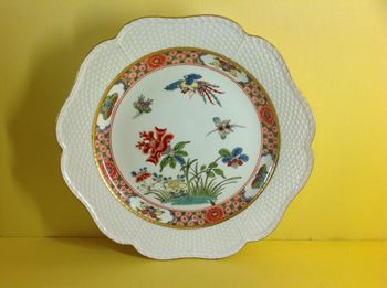 A rare Meissen plate