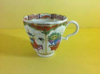 A Caughley coffee cup