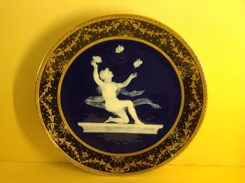 A Minton cabinet plate