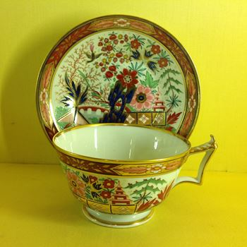 A Flight, Barr and Barr breakfast cup and saucer