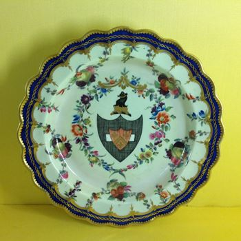 A rare Worcester plate