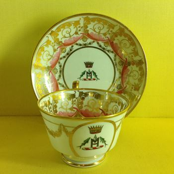 A rare Spode tea cup and saucer