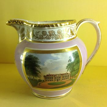 A rare Grainger Worcester commemorative jug