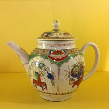 A Plymouth teapot and cover