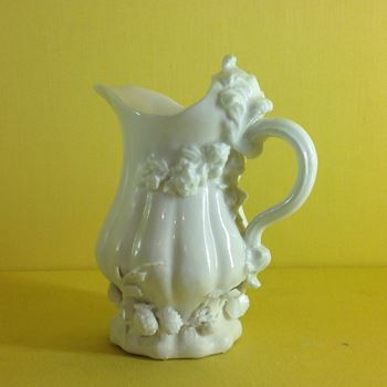 An extremely rare early Chelsea milk jug
