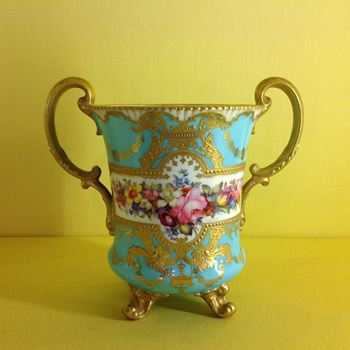 A Royal Crown Derby two handled cup