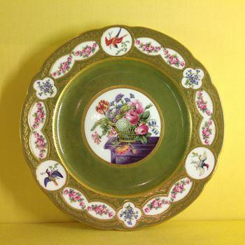 A fine Copeland cabinet plate