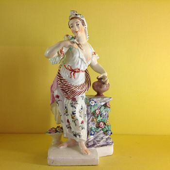 A Bow figure of Flora