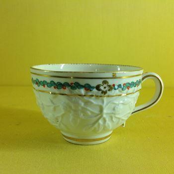 A rare Chelsea Derby tea cup