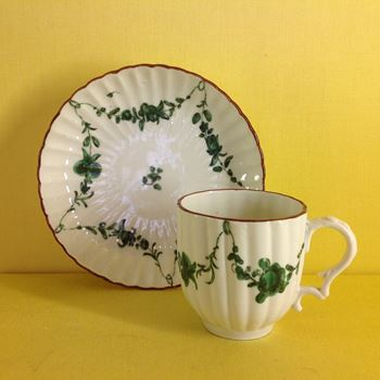 A Bristol coffee cup and saucer