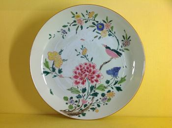 A Chinese Export saucer dish